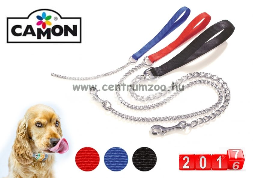 Camon Eash With Steel Chain láncos póráz 60cm (F166)