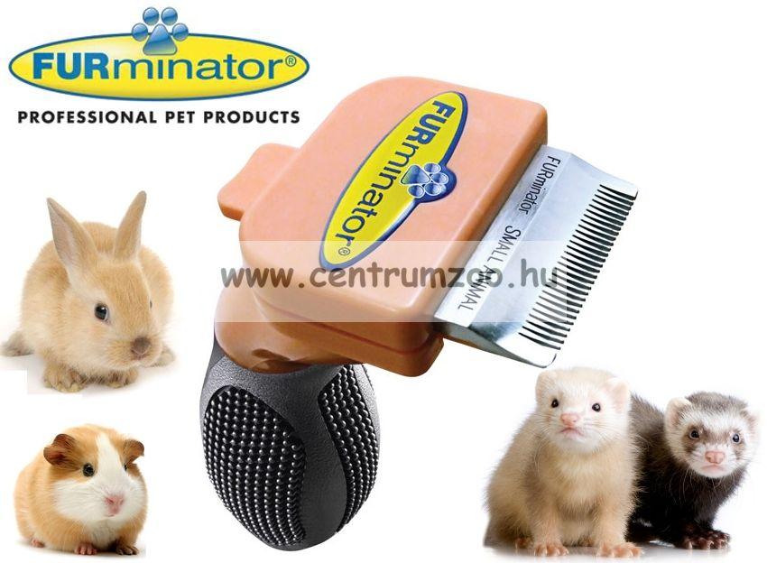 FURminator DeLuxe Professional Small Animal kisállatok részére 3cm
