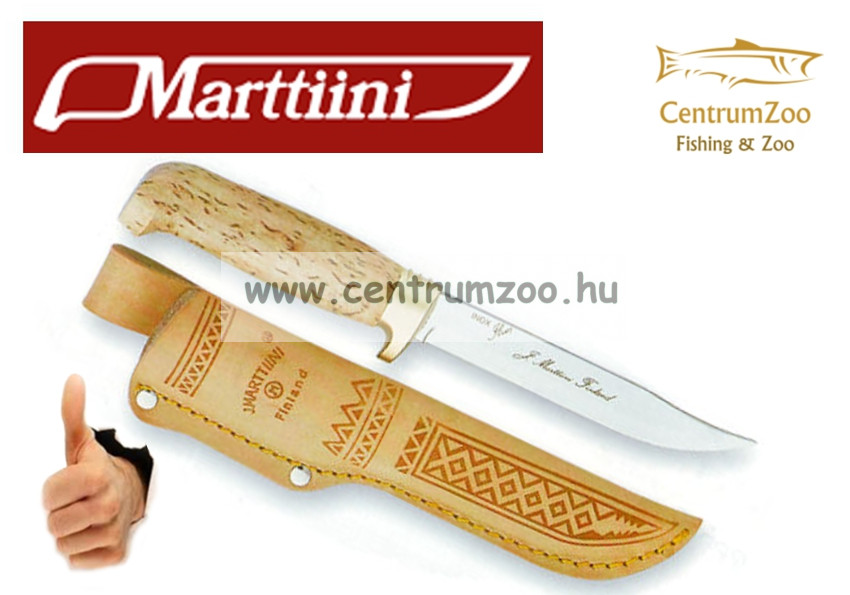 Marttiini Golden Lynx 23cm (bőrtokkal) kés (160014)