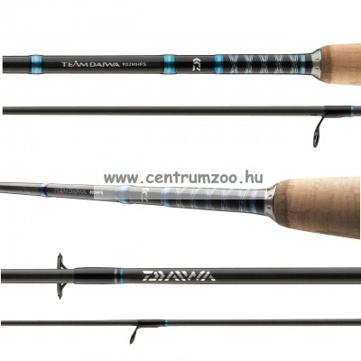 Daiwa Team Softlure Spinning 2,7m 15-50g pergető bot (11727-270)