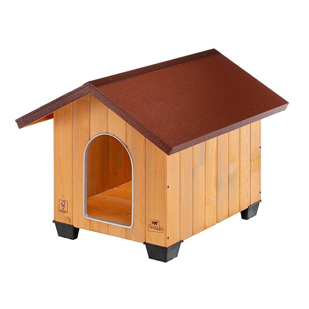 Ferplast Domus Medium fa kutyaház 73 x 85 x h 67,5 cm