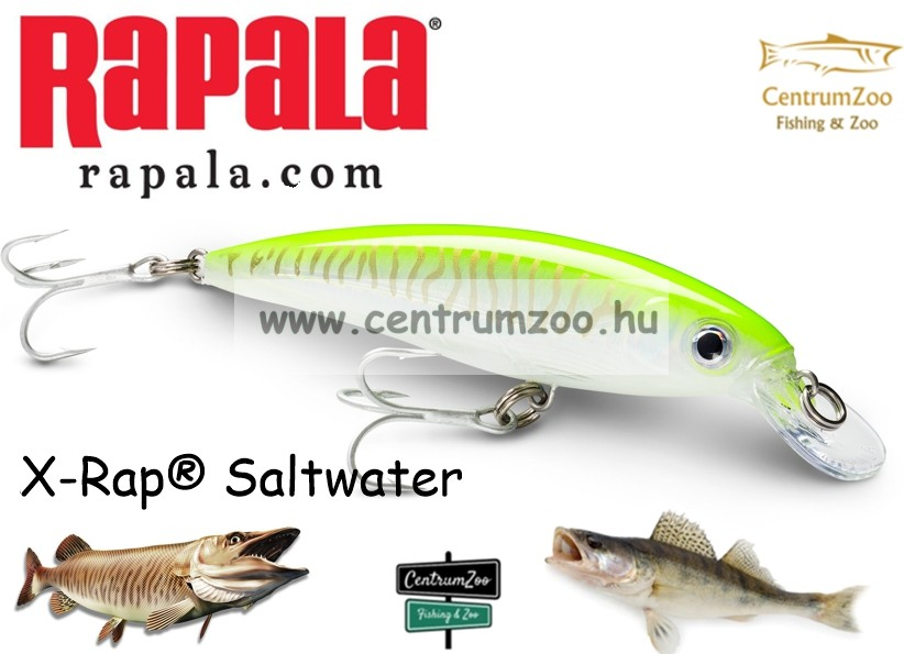 Rapala SXR14 X-Rap Rapala wobbler TÖBB SZÍNBEN