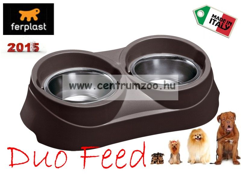 Ferplast Duo Feed 03 NEW dupla tál