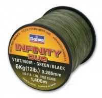 Daiwa Infinity Duo Carp 0,33mm 1060m 8,65kg 16lbs prémium bojlis zsinór (12981-033)