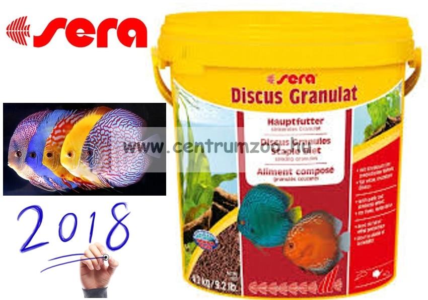 Sera Discus Granulat 10l - 4,2kg díszhaltáp - gazdaságos kiszerelés (0309)