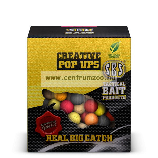 SBS Corn Shaped Popper Boilies 100g (30000)