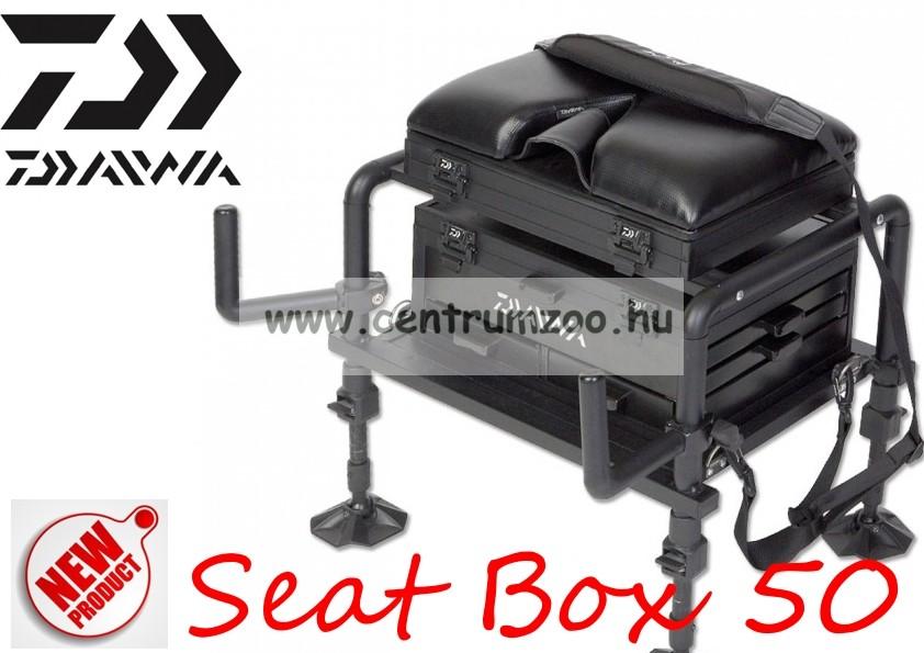 Daiwa ®  50 Seat box prémium horgászláda (D50SB)(193550)