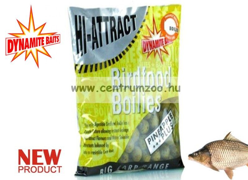 Dynamite Baits Hi-Attract Pineapple Plus bojli 10mm 1kg DY321