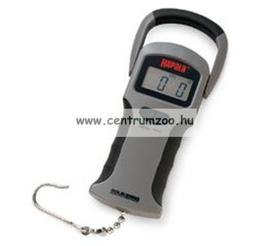 Rapala Digitális prémium mérleg 25kg-os - RGSDS-50
