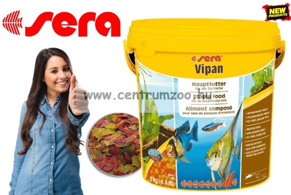 Sera Vipan 10 liter/ 2kg  gazdaságos kiszerelés