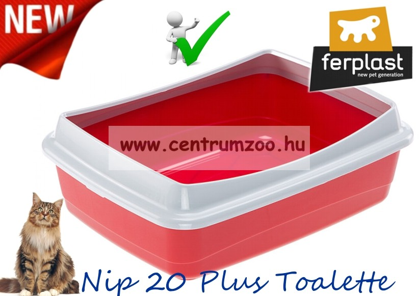 Ferplast Nip 20 Plus NEW macska WC