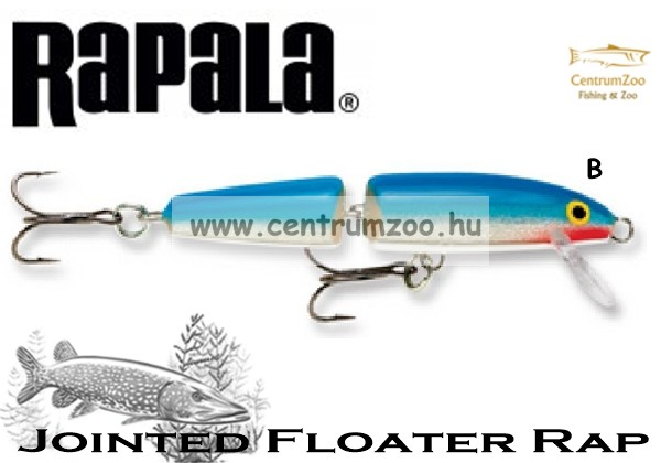 Rapala J07 Jointed Rapala wobbler TÖBB SZÍNBEN