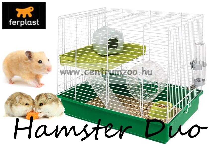 Ferplast Hamster New Duo Plus hörcsög ketrec - 2015NEW