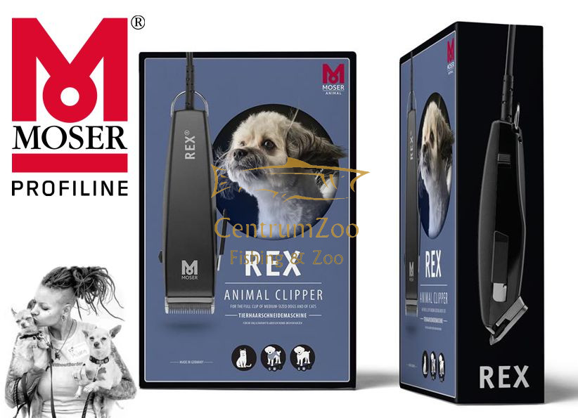 Moser 1230 Rex Animal Clipper 15W+50%POWER kutyanyíró gép 1230-0060