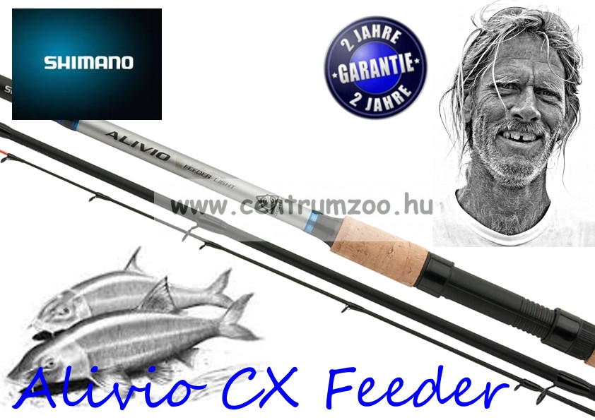 Shimano bot Alivio CX Medium Feeder 3,60m (ALCXMFDR)