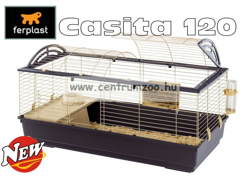 Ferplast Casita 120 nyúl, tengerimalac  ketrec (2016 NEW Color)