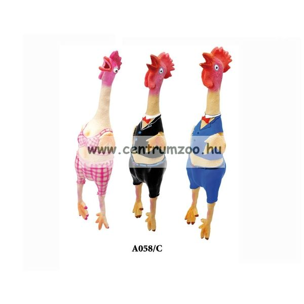 Camon Latex Crazy Chicken játék 47cm (A508/C)
