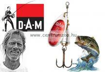D.A.M FZ KÖRFORGÓ EFFZETT® EXECUTOR SPINNER 3g 1-es (D60470) Reflex Red