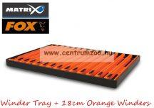 Fox Matrix Winder Tray - 18cm Orange Winders szerelék tartó létra szett 15db (GAC050)