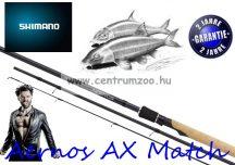 Shimano bot AERNOS AX MATCH 4,5m 15' 20g 3rész (ARNSAX45F) prémium match bot