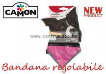 Camon Bandana regolabile Fluo Rosa - XS - kendő kutyáknak (DC310/1)