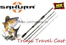 Sakura TRINIS TRAVEL CAST 704MH 2,13m 7-28g 4rész pergető bot (SAPRE801466)