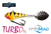SpinMad Tail Spinner gyilkos wobbler TURBO 35g 1009