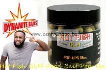 Dynamite Baits Hot Fish GLM-Food Bait Pop-Up 15mm (DY1013)