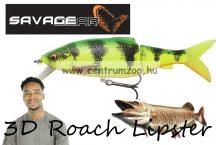 Savage Gear 3D Roach Lipster 130 13cm 26g SF 05-FireTiger gumihal (62239)