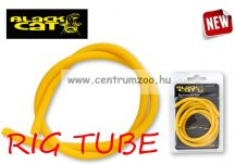 Black Cat RIG TUBE YELLOW 1m Ø2mm Ø4mm gumicső  (6611069)