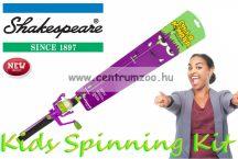 Shakespeare® COSMIC SPINNING COMBO Catch a Monster Kids Spin Rods Purple szett (1506887) lila