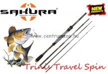 Sakura TRINIS TRAVEL SPIN 664XH 1,98m 14-70g 4rész pergető bot (SAPRE801366)