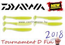 Daiwa Tournament D Fin Lime Gumihal 12,5cm gumihal 5db (16501-212)