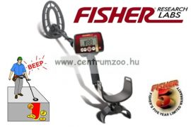 Fisher USA F22 fémdetektor 9''-os tekerccsel (fis-det-f22-01)