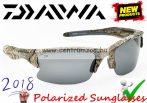 Daiwa Infinity Camo Polarized Sunglasses - GRY LENS 2018NEW modell (ICPSG4)(209291)