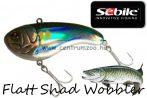 Sebile® Flatt Shad megbízható wobbler FS-066-SK - Ayu Green (1407718)