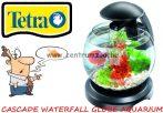 Tetra Cascade Waterfall Globe Black akvárium szett 6,8 liter (211827) FEKETE