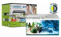 AquaEl Leddy 40 White akvárium szett 25liter FEHÉR EGYENES felszerelt akvárium szett