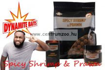 Dynamite Baits bojli Spicy Shrimp & Prawn 20mm 1kg (DY974)
