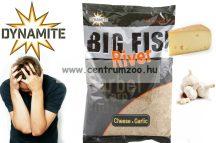 Dynamite Baits Big Fish River Cheese & Garlic 1.8kg etető anyag sajt+fokhagyma (DY1371 )