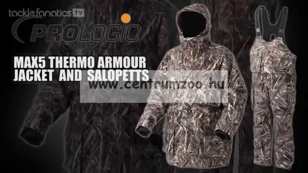 Prologic Max5 Thermo Armour Pro Jacket vízálló kabát (48023