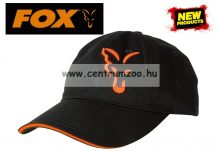 sapka - Fox Black & Orange Baseball Cap baseball sapka (CPR925)