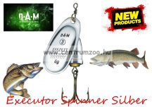 D.A.M FZ KÖRFORGÓ EXECUTOR SPINNER Silber 3g 1-es (5127103)
