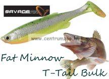 SAVAGE GEAR LB Fat Minnow T-Tail 10,5cm 11g gumihal Fluo Green (61819)