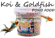 COBBYS PET POND STICKS COLOUR 1l tavi haltáp vödörben (52358)