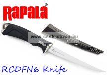 Rapala RCD Fillet Knife prémium horgászkés (RCDFN6)