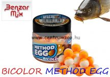 BENZÁR BICOLOR METHOD EGG 6-8mm   horogcsali - több ízben (98980-1**)