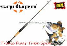 Sakura TRINIS FLOAT TUBE SPIN 631M 1,68m 5-21g 1rész pergető bot (SAPRE800556)