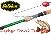 Delphin Zephyr TRAVEL Tele 240cm 30g  utazó pergető bot (110378540)