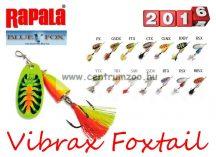 RAPALA BLUE FOX Vibrax Foxtail BFX1 villantó